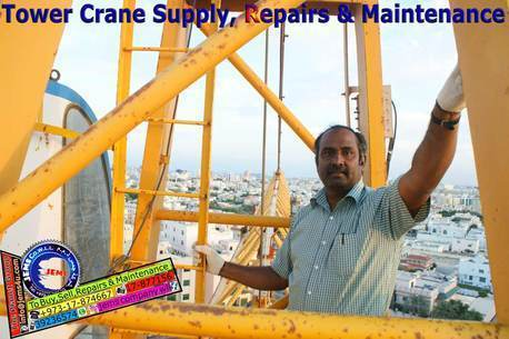 Bahrain, Materials, Tower Crane Supply, Repairs & Maintenance in Bahrain
