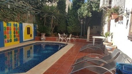 Amman, Apartments/Houses, JOD 24000 / year - 4 BR - GF w/ private swimming pool , patio & garden- Furnished-Umma Thyniah