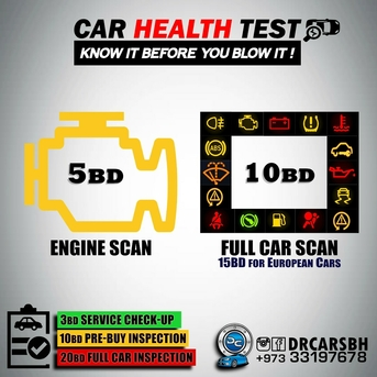 Bahrain, Automotive, SECOND HAND CAR BUY CHECK UP at your 10 BD