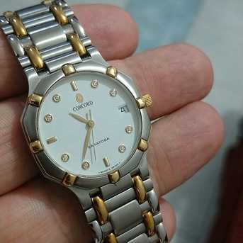 Riyadh, Jewelry, NEW CONCORD  Solid Gold and steel  original Diamond Diawatch - Original Swiss Made  Ladies