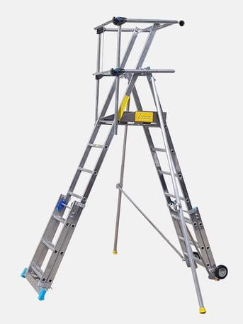 Bahrain, Materials, BHD 380 / Telescopic Platform & Fixed Platform Ladders
