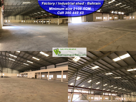 Arad, Factories, 2108 Sq. Meter - And Large Industrial WORKSHOP / FACTORY Space Rent. Modern Facilities. Call 39044943