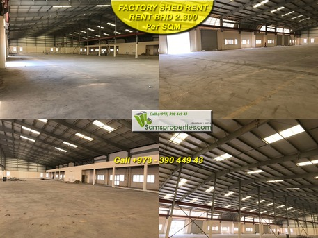 Arad, Warehouses, 2108 Sq. Meter - Shed for WORKSHOP / FACTORY  or other INDUSTRIAL use for Rent near Port. Call 39044943