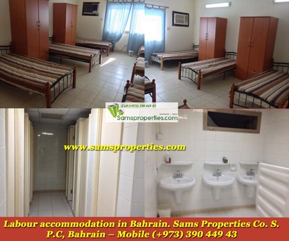 Arad, Staff Accomodation, BHD 2880 - Modern LABOUR CAMP For Rent In HIDD  ARAD TWO Floors 12 Large Rooms Call 39044943